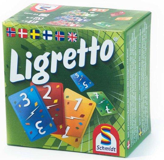 Schmidt Ligretto Green Version Spill