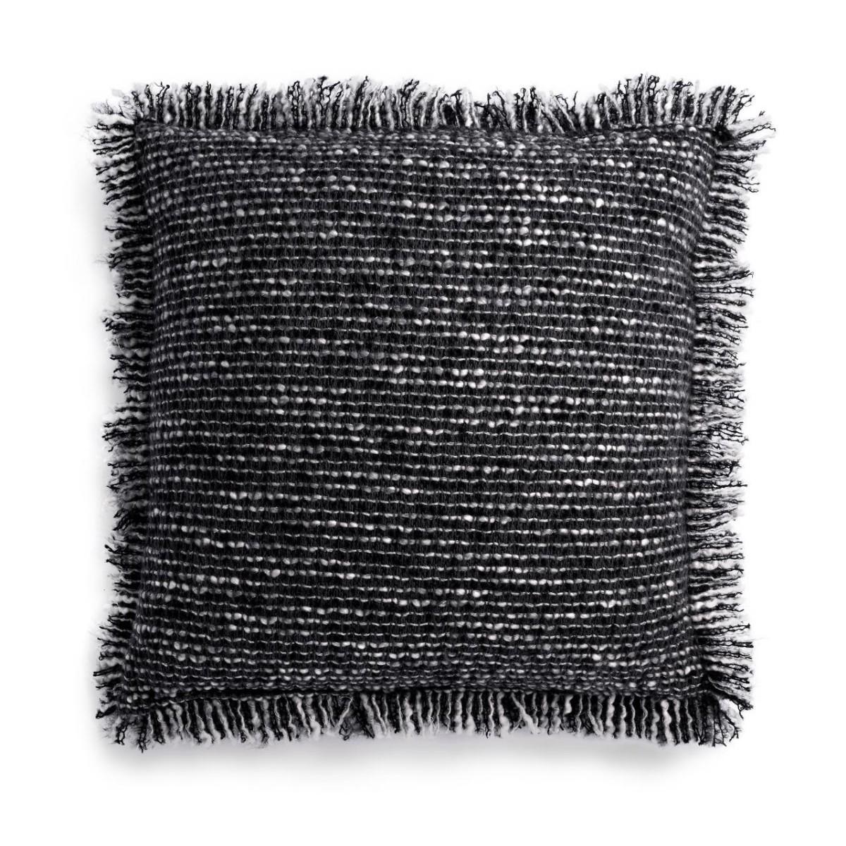 L'Objet I Seville Bouclé Pillow - Small I Charcoal