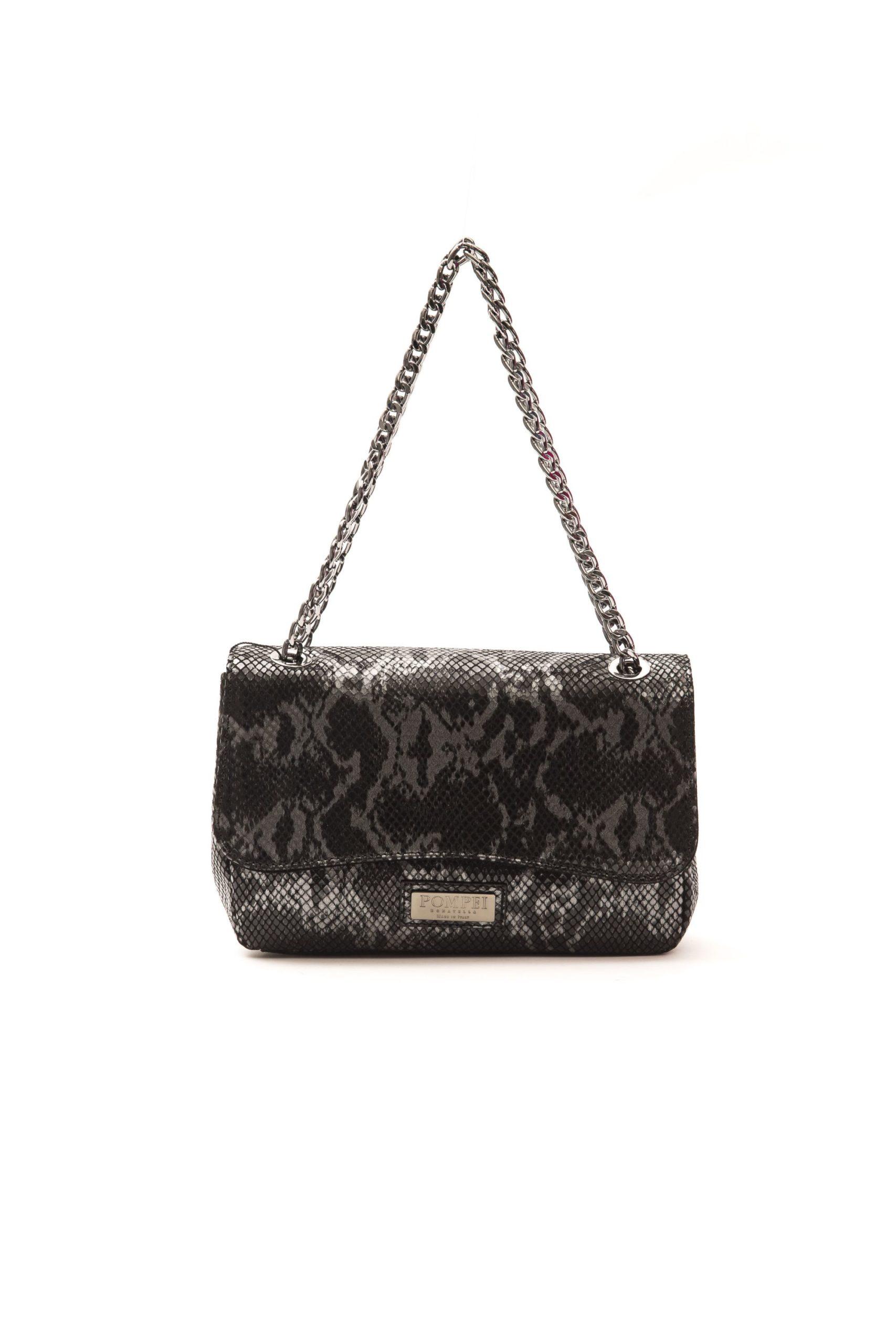 Pompei Donatella Women's Grigio Crossbody Bag Grey PO1004843