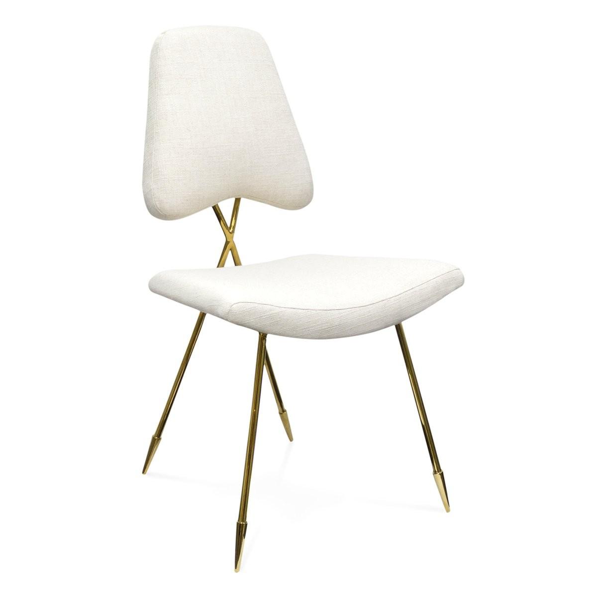 Jonathan Adler I Maxime Dining Chair I Belgium Stone Linen