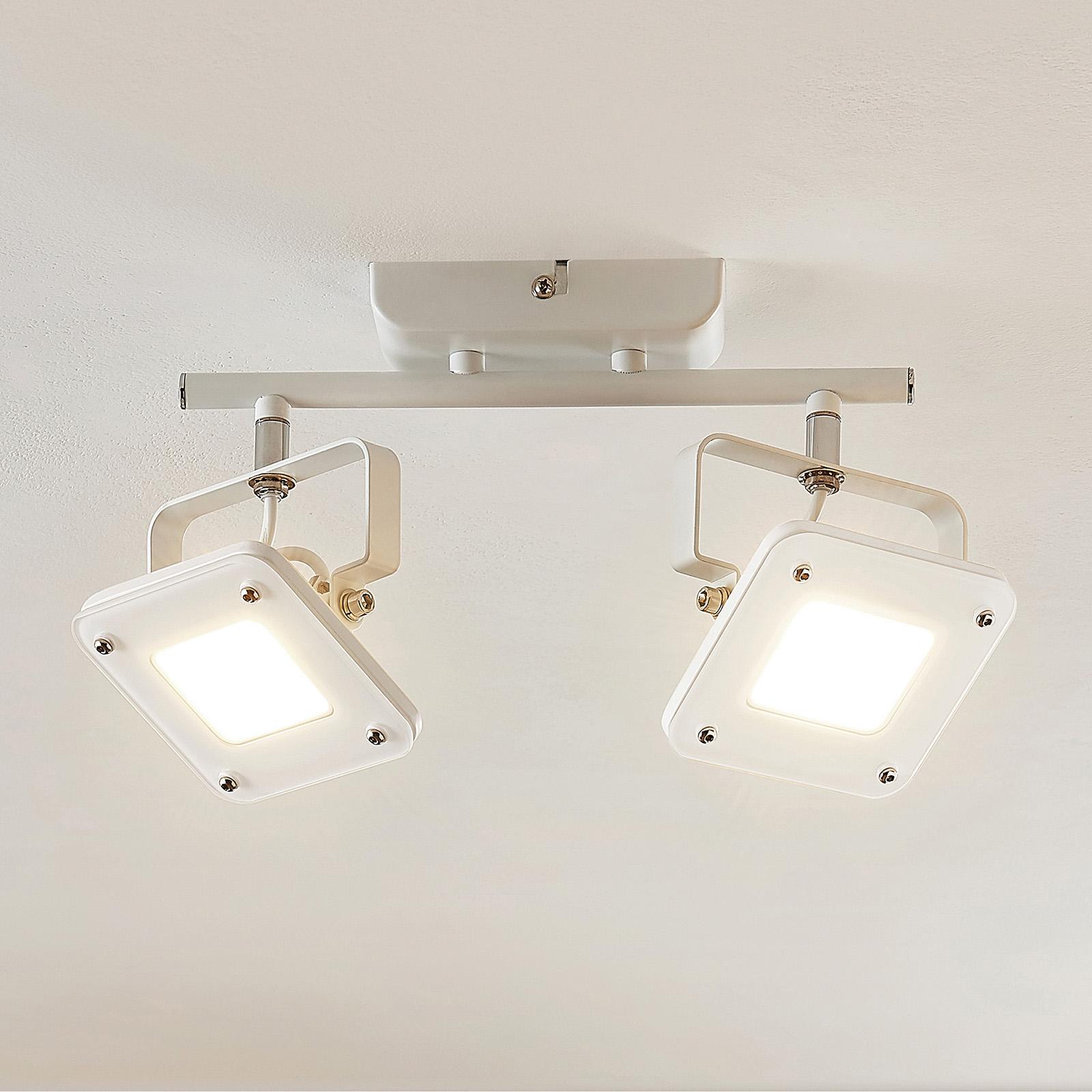LED-kattospotti Juliana himmennettävä 2-lamppuinen