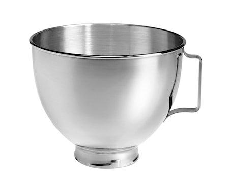 Artisan skål til kjøkkenmaskin stål 4,3 L