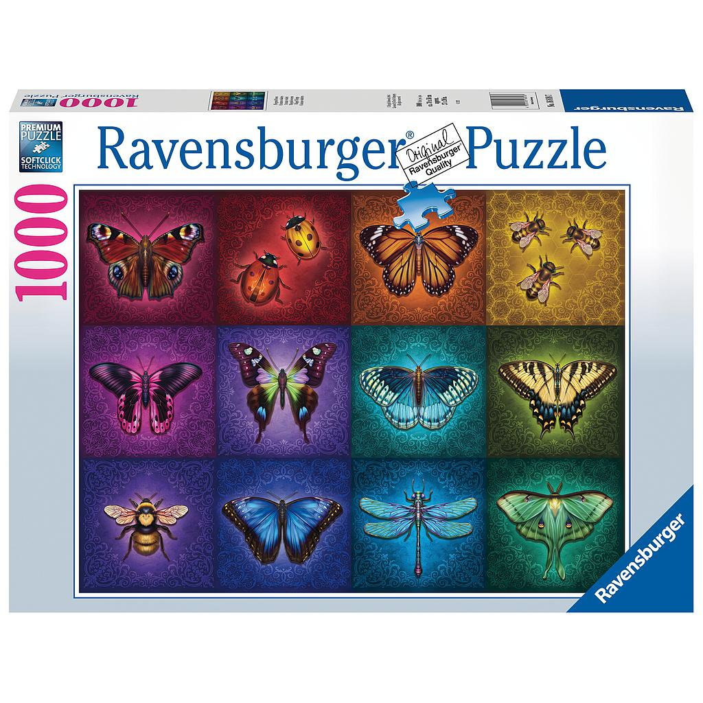 Ravensburger - Puzzle 1000 - Beautiful Winged Things (10216818)