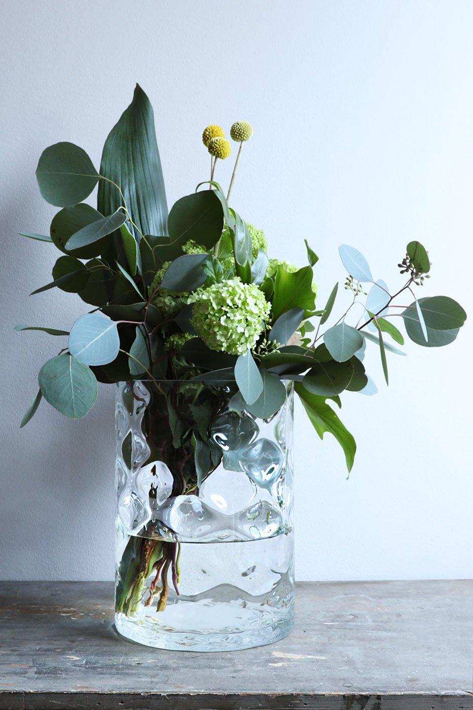Vas Anemon klarglas 25X18 cm