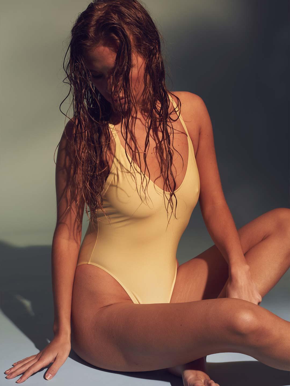 Frank Dandy Swimsuit Yellow