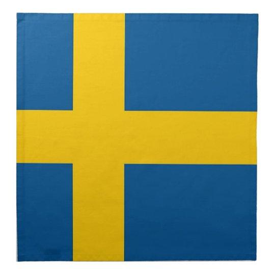 Servetter Svenska Flaggan - 20-pack