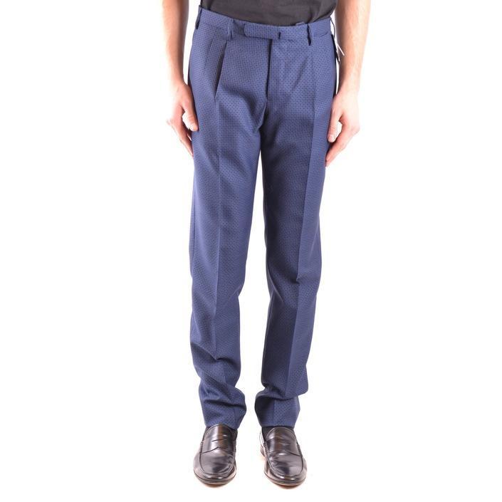 Incotex Men's Trouser Blue 164831 - blue 48