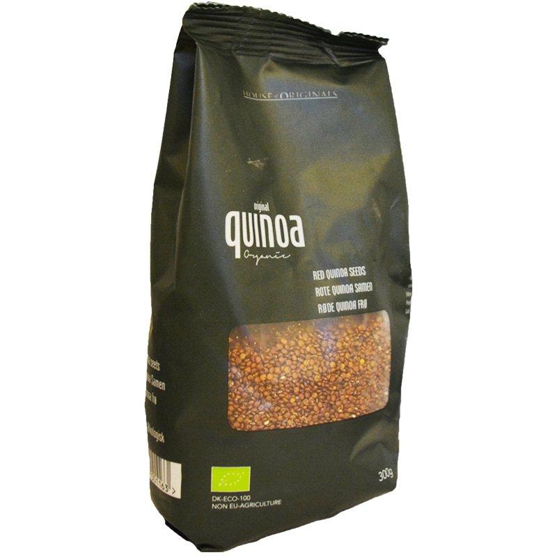 Kvinoa, punainen 300 g - 43% alennus