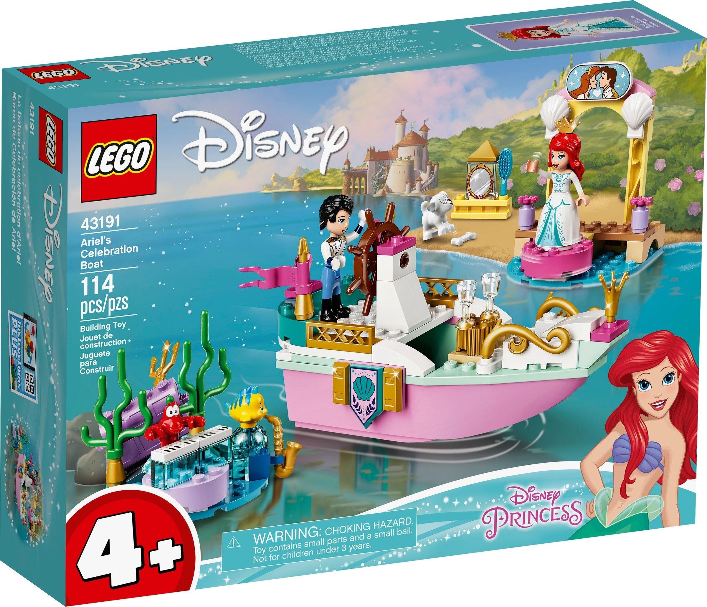 LEGO Disney - Ariel's Celebration Boat (43191)