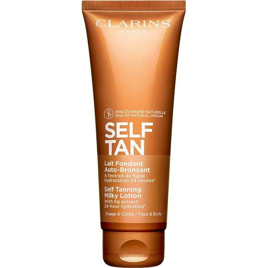 Self Tanning Milky-Lotion, 125 ml Clarins Itseruskettavat