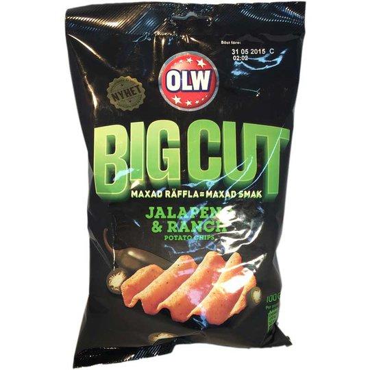 Chips Big Cut Green - 70% rabatt