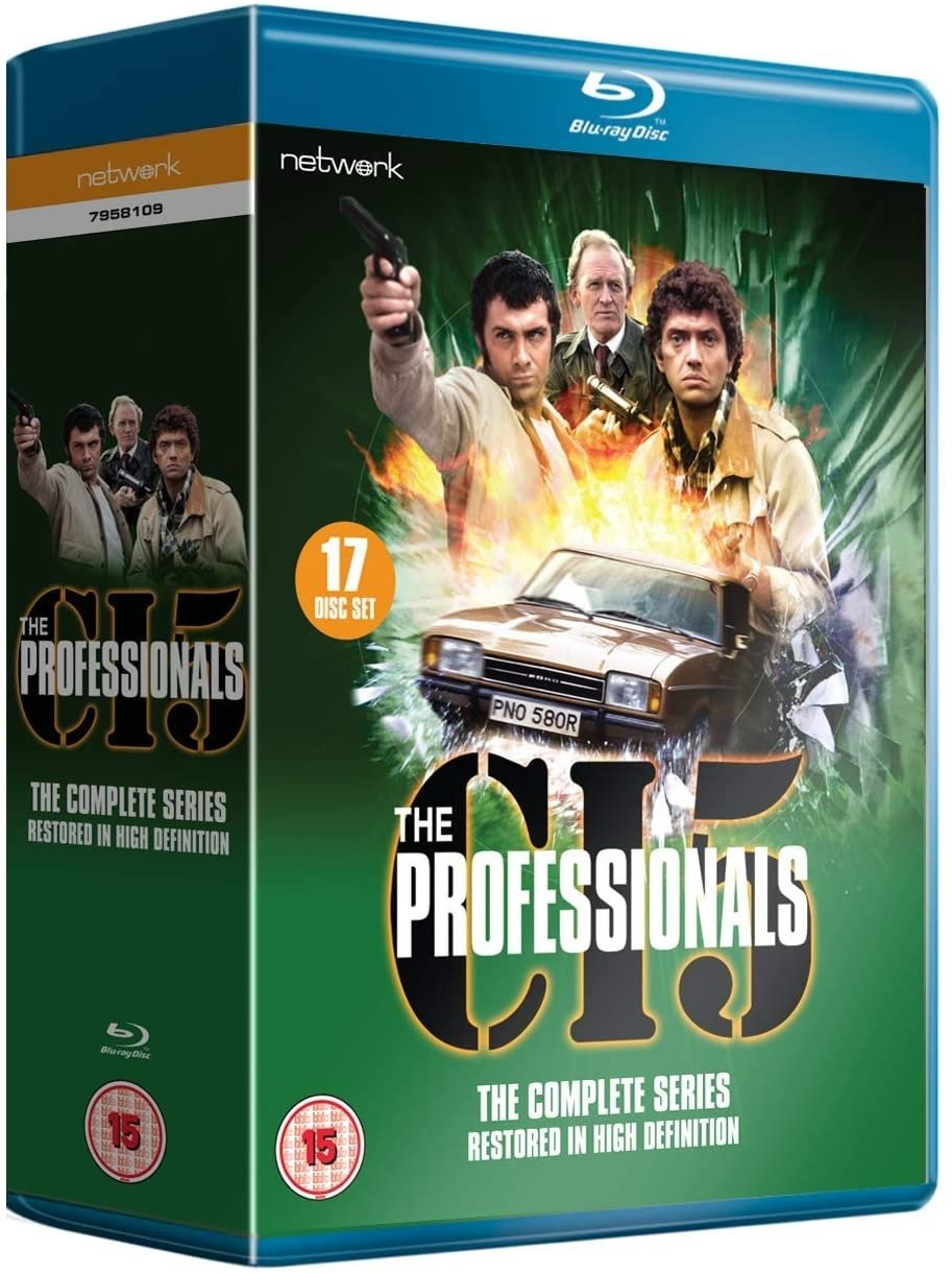 Professionals: The Complete Series (Blu-ray) (17 disc) - UK Import