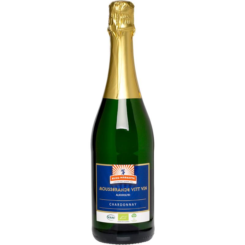 Eko Mousserande Vitt Vin Alkoholfritt - 34% rabatt