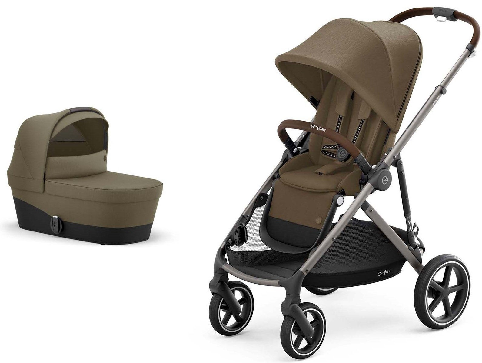 Cybex Gazelle S Duovagn, Taupe/ Classic Beige