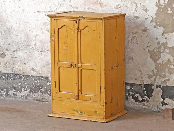 Colourful Vintage Cabinet Orange