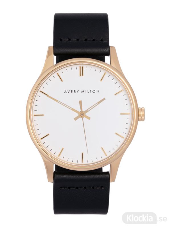 Avery Milton Como Black Gold/White 1191401120 Unisexklocka