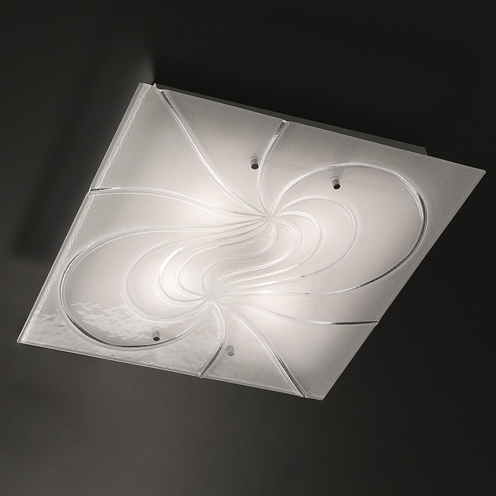 Neliönmuotoinen kattovalaisin Mistral 50 cm