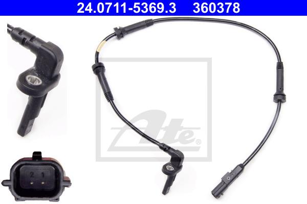 ABS-anturi ATE 24.0711-5369.3