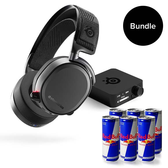 Steelseries - Arctis Pro Wireless Gaming Headset + Limited Redbull Bundle