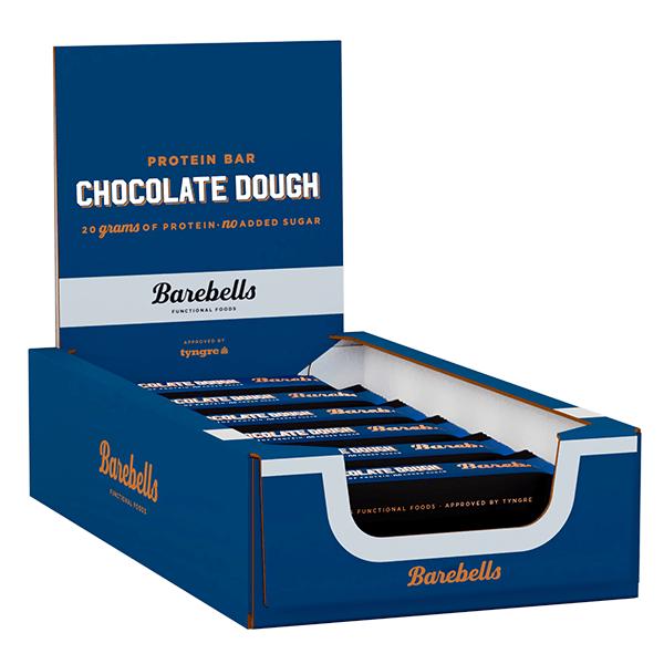 Barebells Protein Bar - Chocolate Dough 55g x 12-pack
