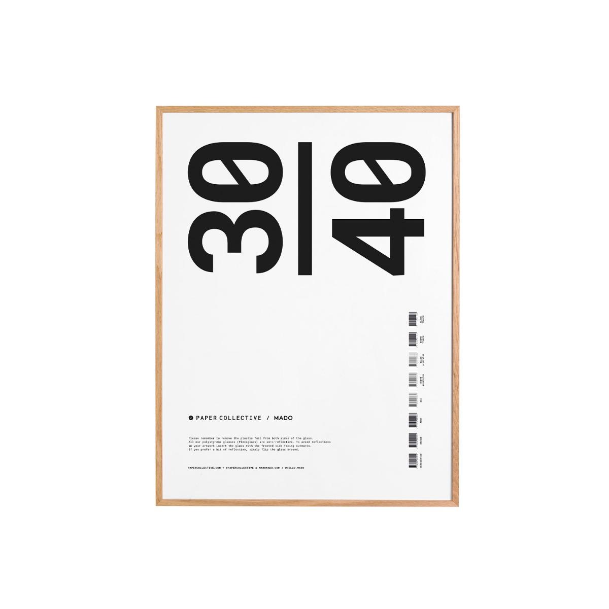 Paper Collective Ram Ek Plexi 30x40 cm