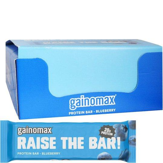 "Hel Låda Proteinbars ""Blueberry"" 15 x 60g - 60% rabatt"