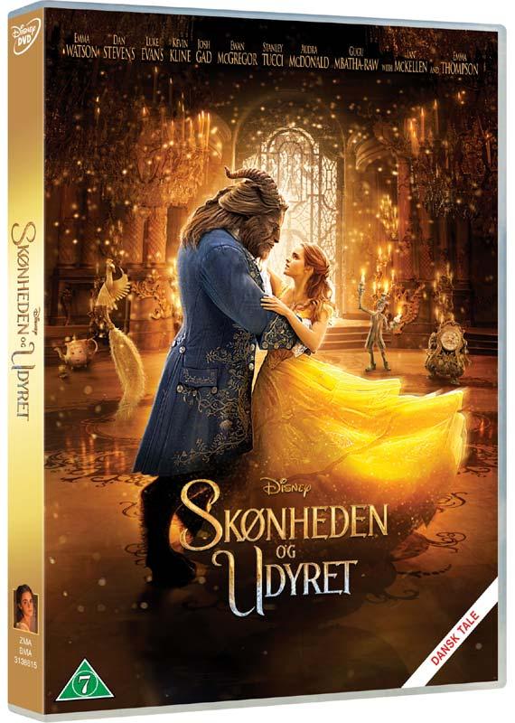 Disneys - Beauty and the Beast/Skønheden og Udyret (Emma Watson) - DVD