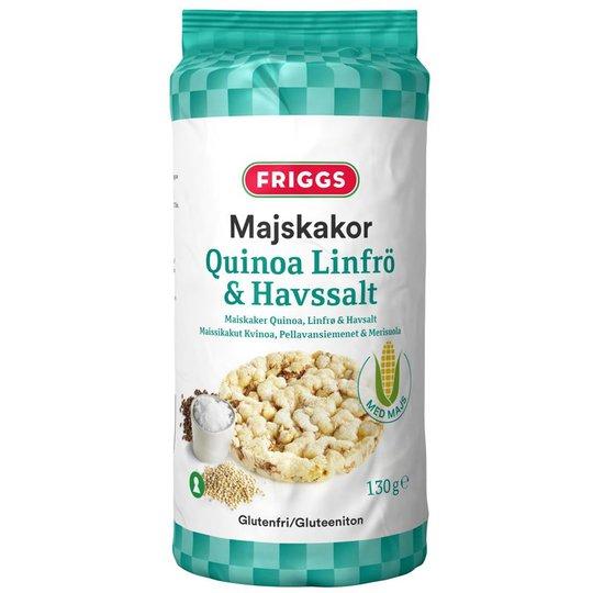 Majskakor Quinoa, Linfrö & Havssalt - 14% rabatt
