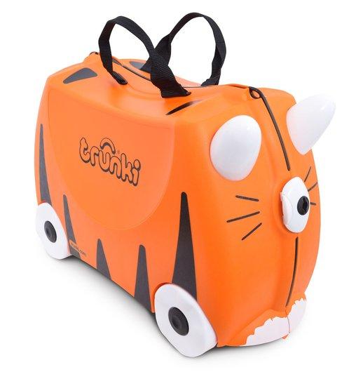 Trunki Koffert Tiger Oransje