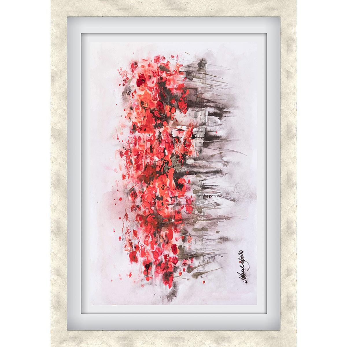 Urban Poppies Silver - Medium