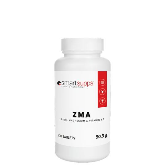 SmartSupps ZMA, 100 tabs