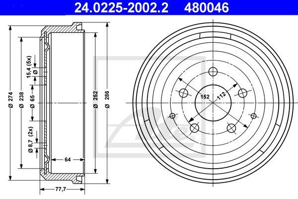 Jarrurumpu ATE 24.0225-2002.2