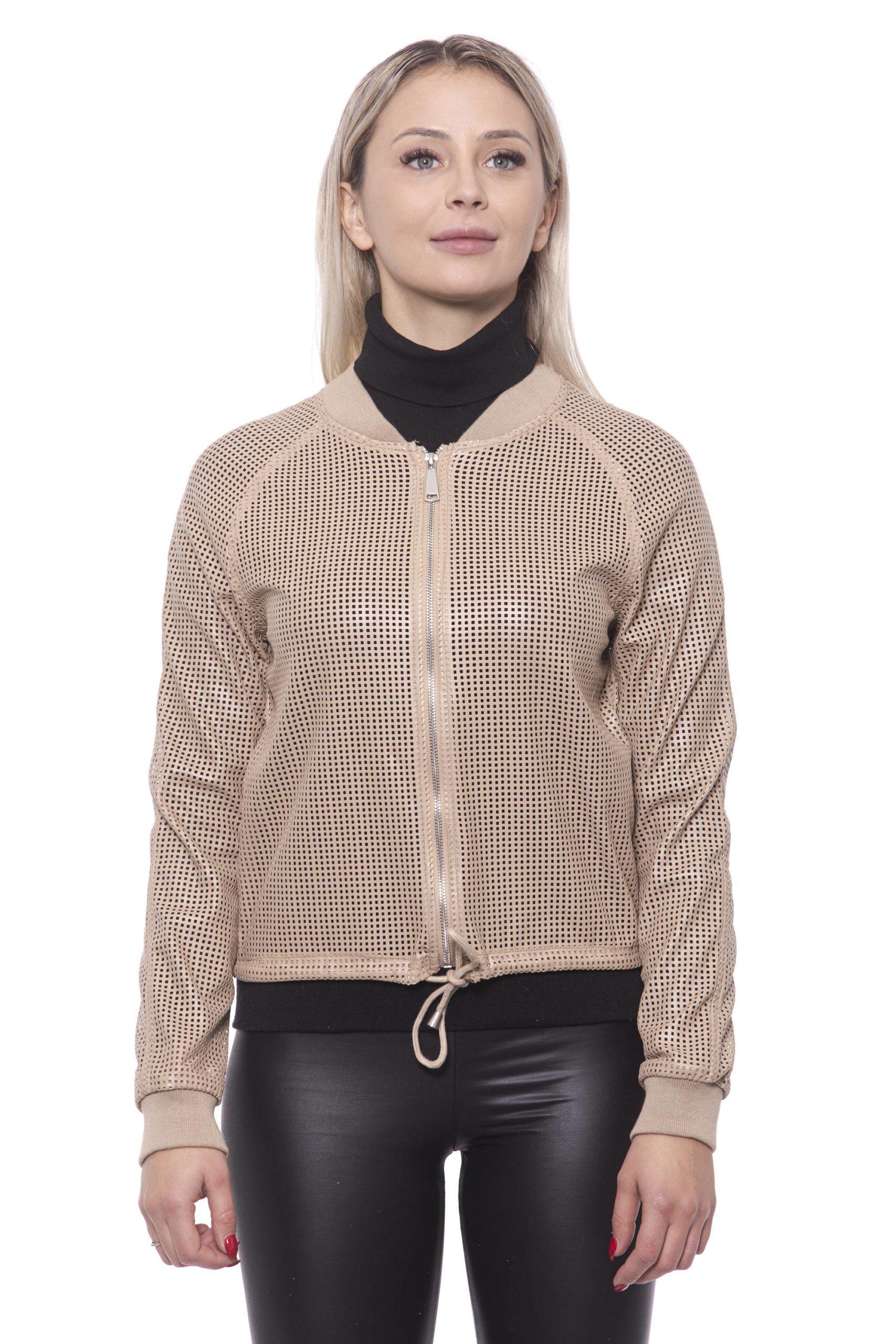 19V69 Italia Women's Jacket Beige 191388373 - IT42   S
