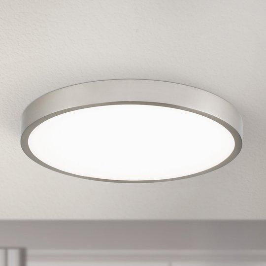 LED-kattovalaisin Bully, satinoitu, 24 cm