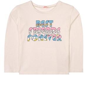 Billieblush Best Friends Forever Tröja Vit 2 år