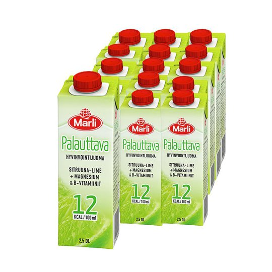 Hyvinvointijuomat Sitruuna-Lime 15kpl - 66% alennus