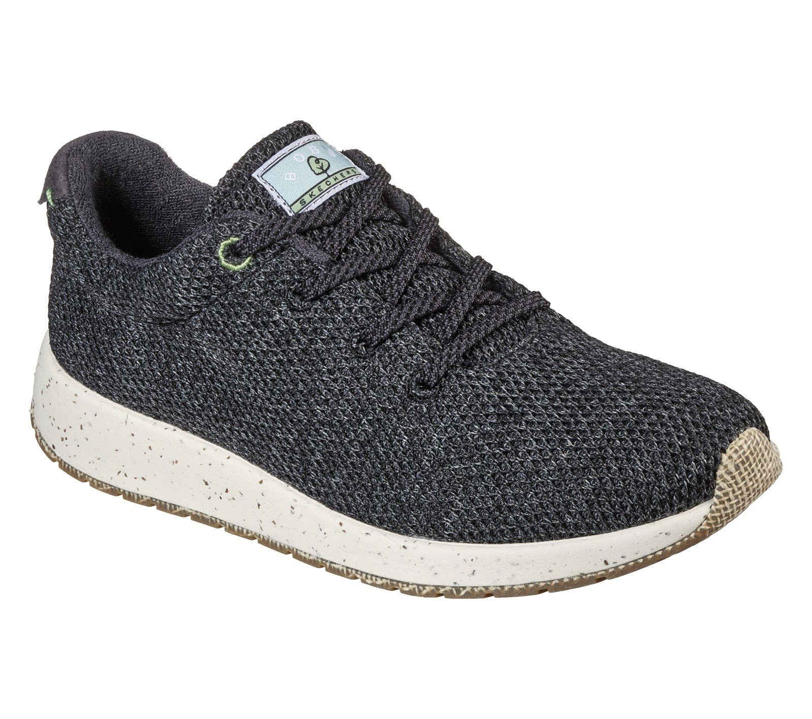 Skechers Women's Bobs Earth Trainer Various Colours 32132 - Charcoal 3