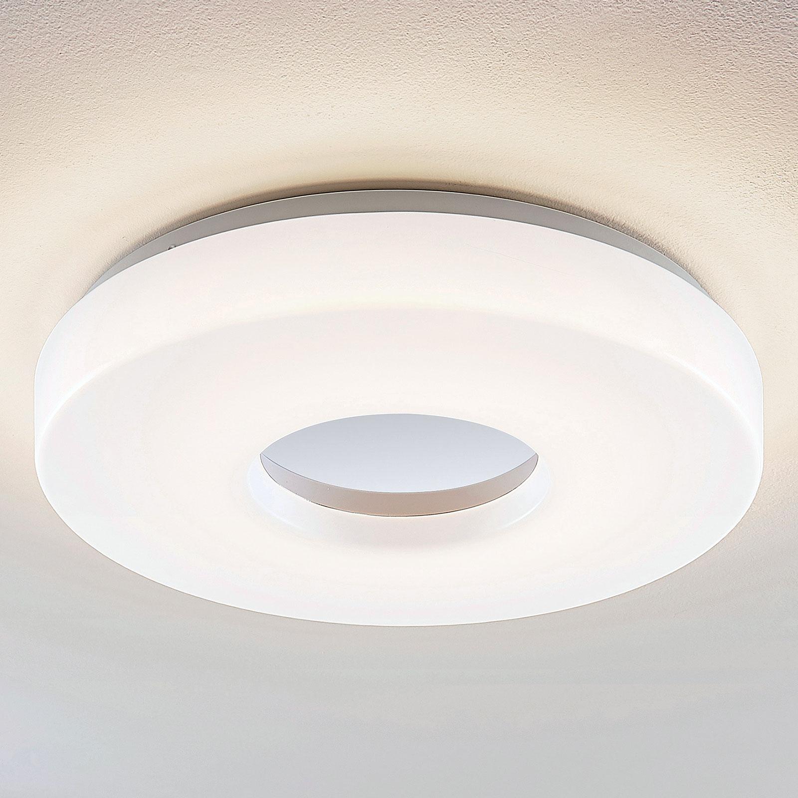 Lindby Florentina LED-kattolamppu, rengas, 41 cm