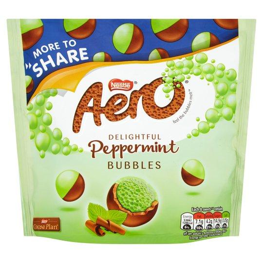 Aero Bubbles Peppermint Bag 219g