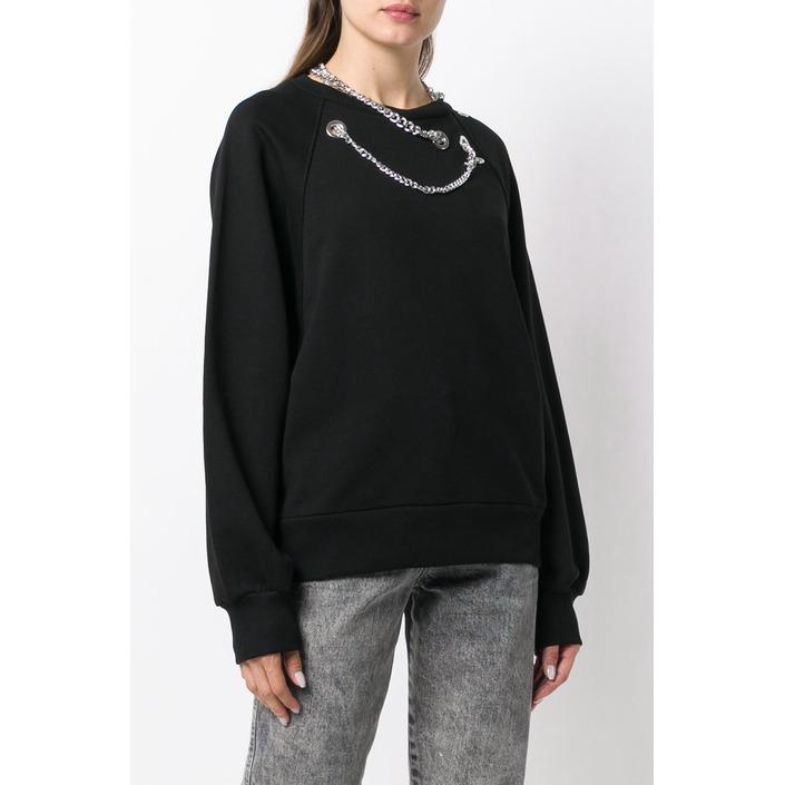 Diesel Women's T-Shirt Black 297887 - black S