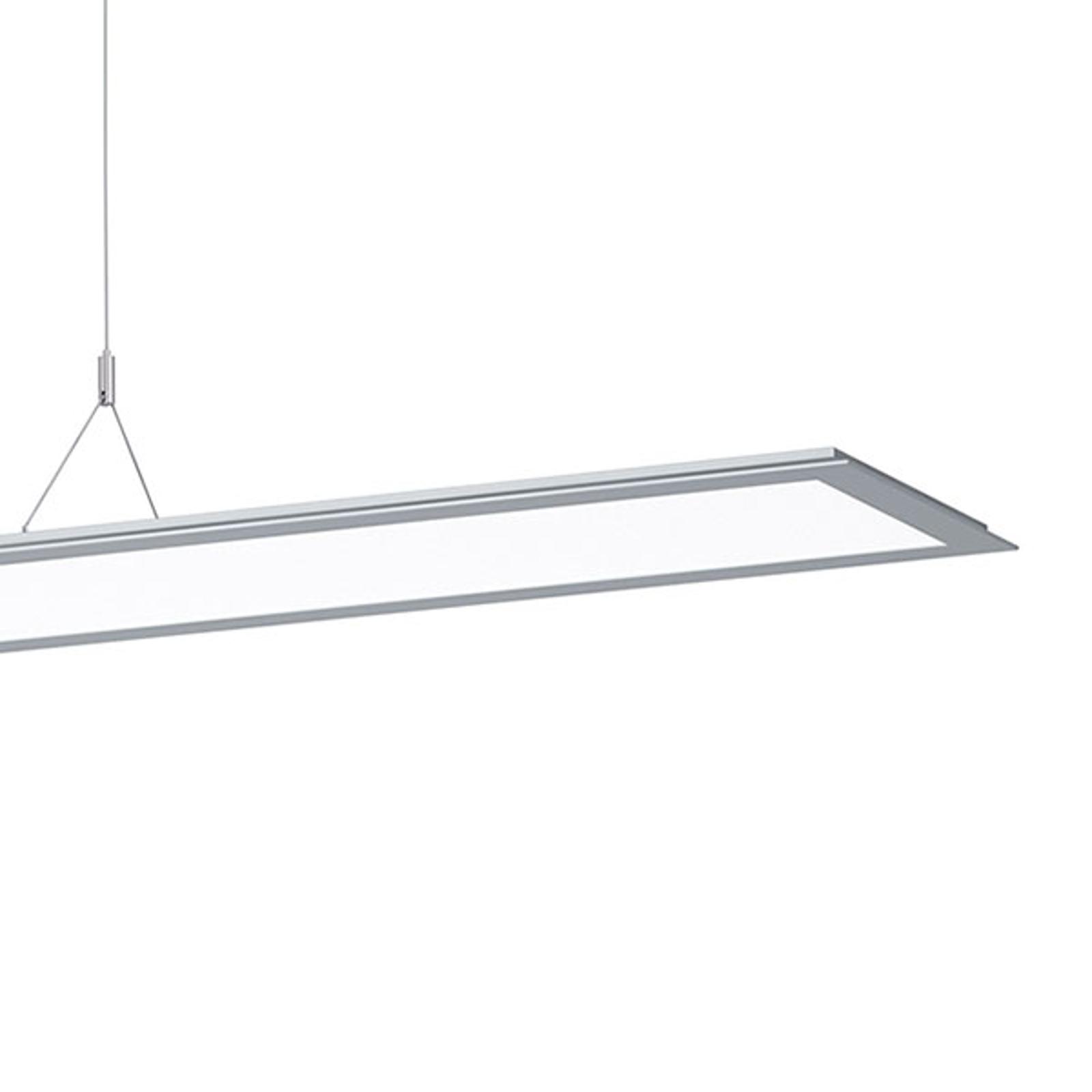 LED-riippuvalo SL713PL 124cm DALI, 9250 lm harmaa