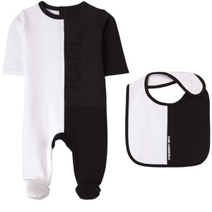 Karl Lagerfeld Kids Sparkdräkt Vit 6 mån