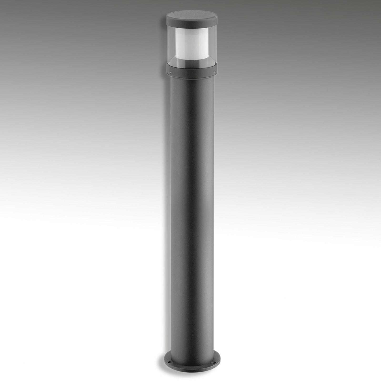 LED-pylväsvalaisin Levent, grafiitti 92 cm