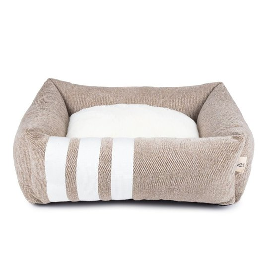 Basic WellB Ortopedisk Hundbädd Beige (M)