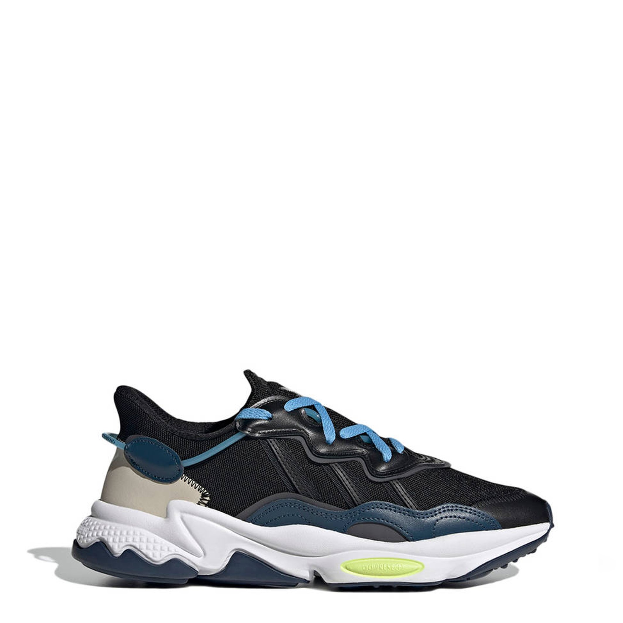 Adidas Unisex Ozweego Trainers Various Colours EE6466 - black-1 UK 11.0