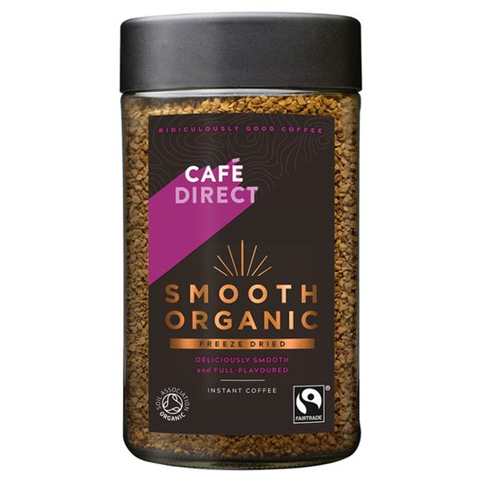Cafédirect Smooth Organic Freeze Dried Instant Coffee, 100 g