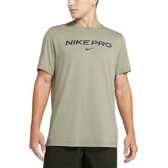 Nike Pro DB Tee, Light Olive