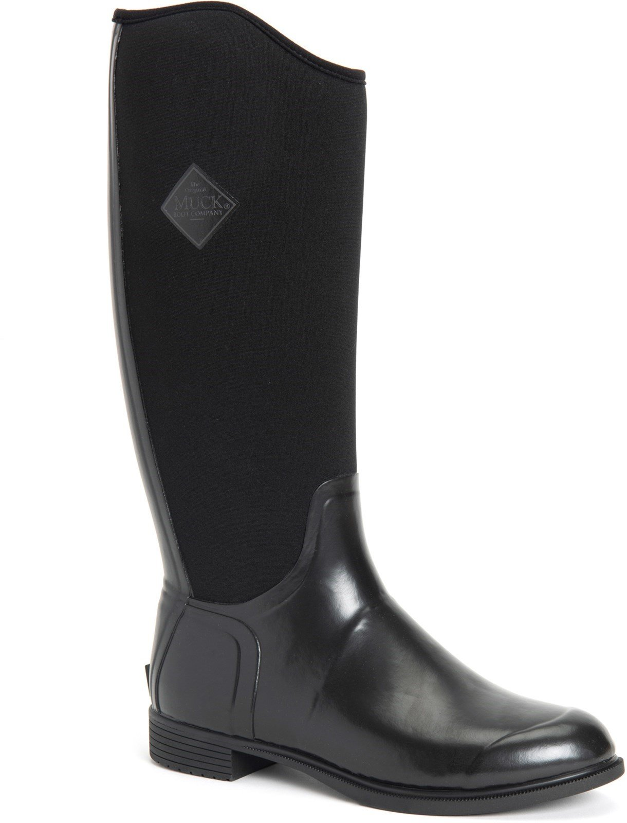 Muck Boots Unisex Derby Tall Boot Black 30983 - Black 3