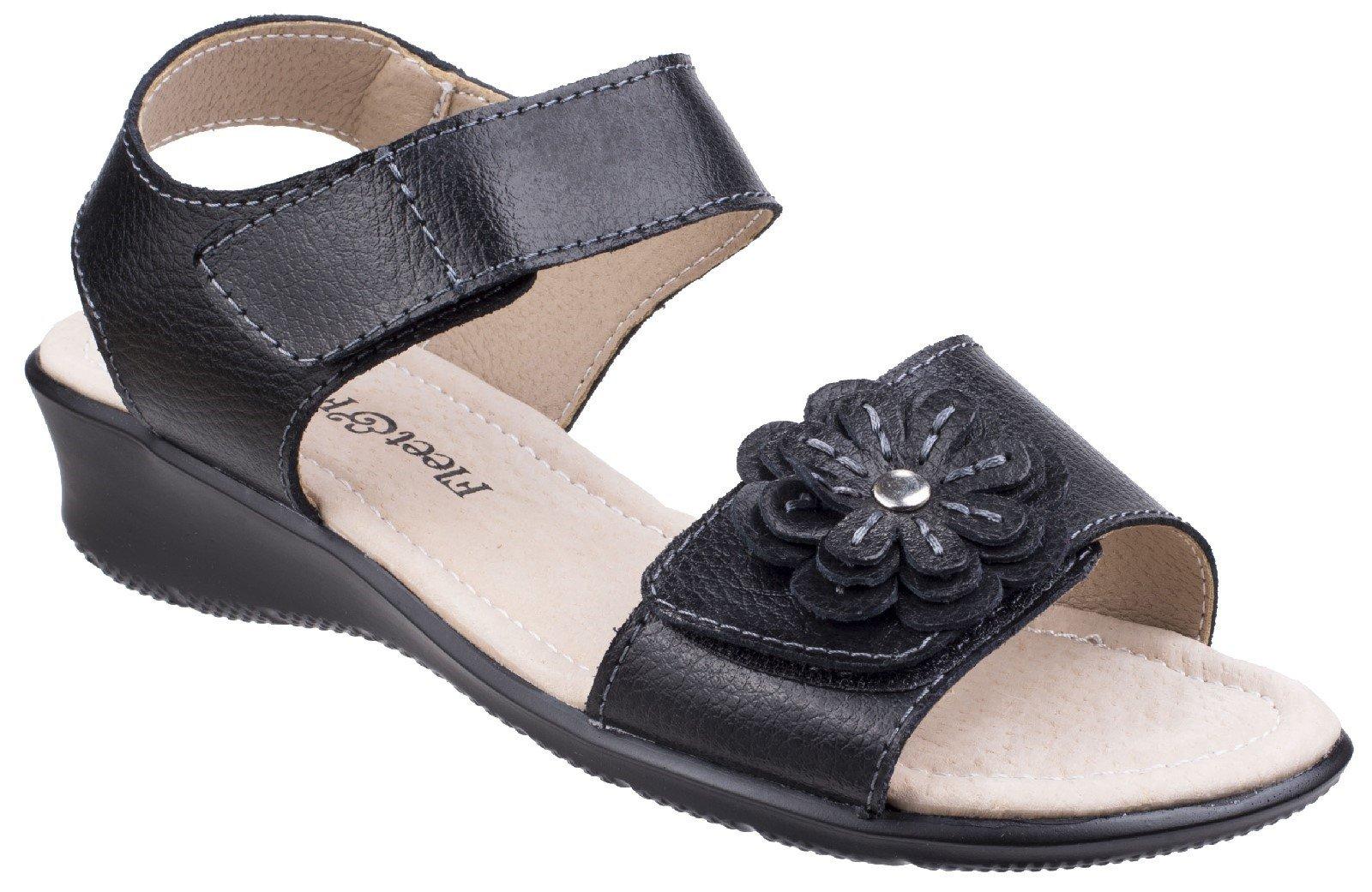 Fleet & Foster Women's Sapphire Touch Sandal Various Colours 26299 - Black 3