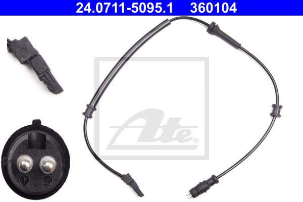 ABS-anturi ATE 24.0711-5095.1